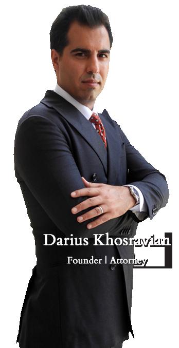 Darius Khosravian Founder | Attorney